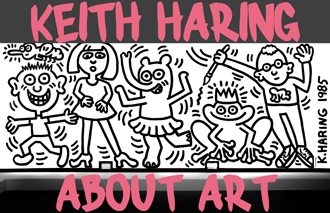01 Keith Haring About Art