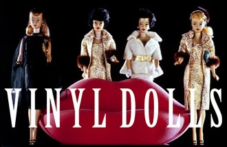 12 Vinyl Dolls