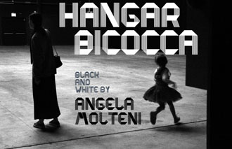 02 Hangar Bicocca Black and White by Angela Molteni